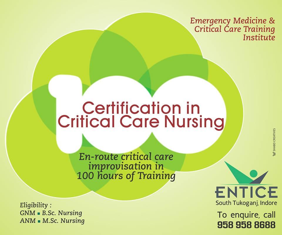 Certification In Critical Care Nursing Cccn Entice Institute